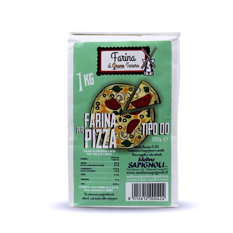 Farina di Grano Tenero per pizza tipo 00 Molino Sapignoli